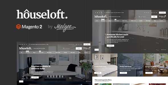 Download Houseloft - Responsive Magento 2 Theme nulled download