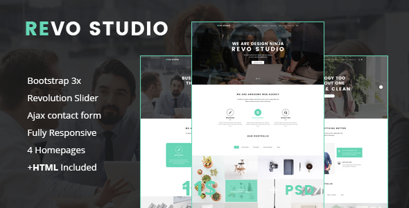 Download Revo Studio - Multipurpose Joomla Template