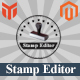 Stamp Editor Magento Extension