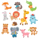 Cute Animal Characters Collection