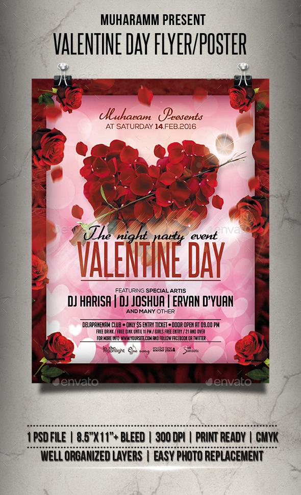 Valentine Day Flyer / Poster
