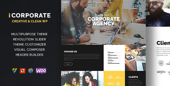 iCorporate - Multipurpose Creative  Corporate