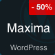 Maxima - Minimal Blog & Magazine WordPress Theme