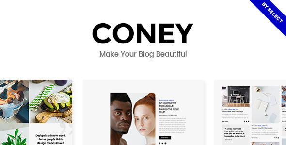 Download Coney - A Trendy Theme for Blogs and Magazines nulled download