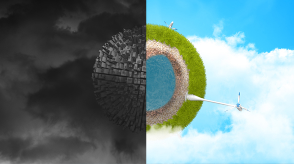 VideoHive Logo Reveal Ecology Earth 19306716