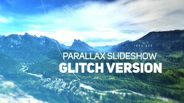 VideoHive Inspired Parallax Slideshow Glitch 19307217