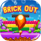 Brick Out - HTML5 Game, Mobile Vesion+AdMob!!! (Construct-2 CAPX)
