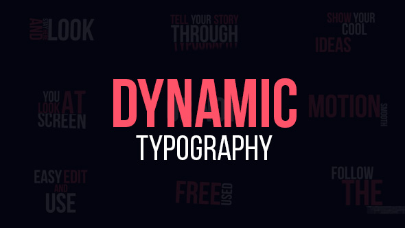 VideoHive Dynamic Typography 19307853