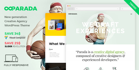 Parada | Creative Agency WordPress Theme