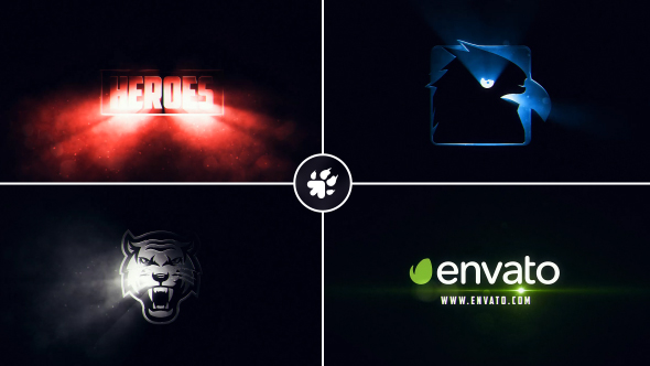 VideoHive Cinematic Light Rays Logo 19308449