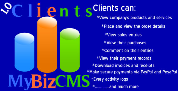 Download MyBizCMS Clients Addon nulled download
