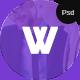 WASAN - PSD App Landing Page