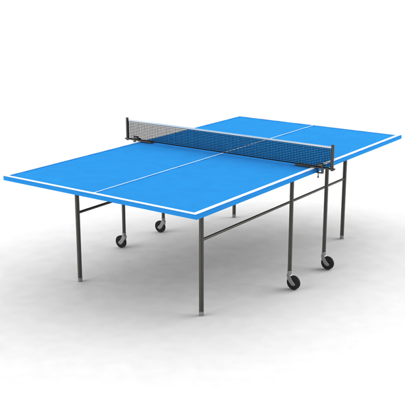 Ping-Pong Table - 3DOcean Item for Sale