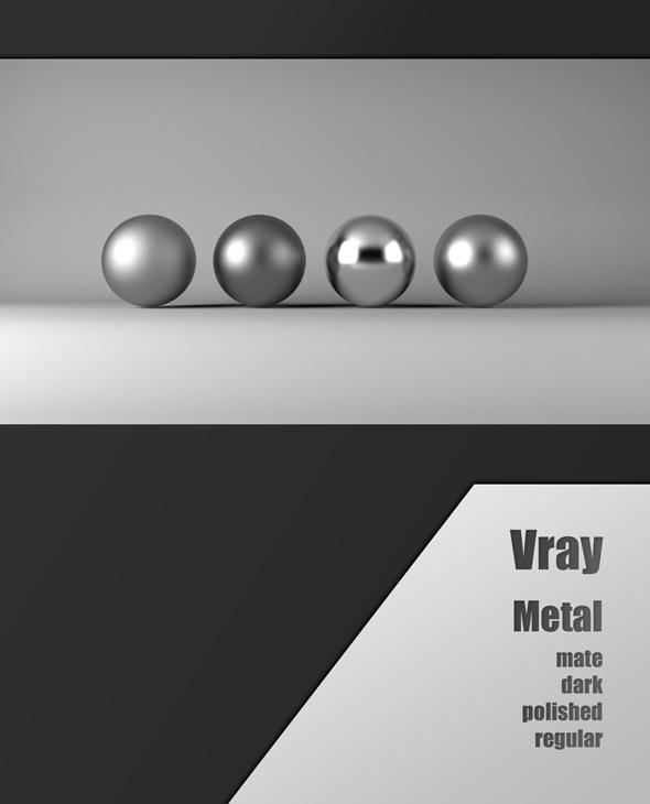 3DOcean Vray metal 19309875