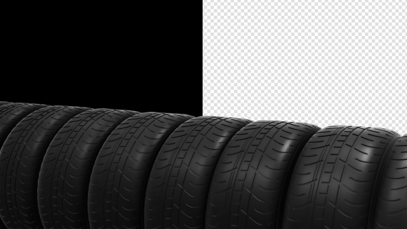 VideoHive Car Tires 19309922