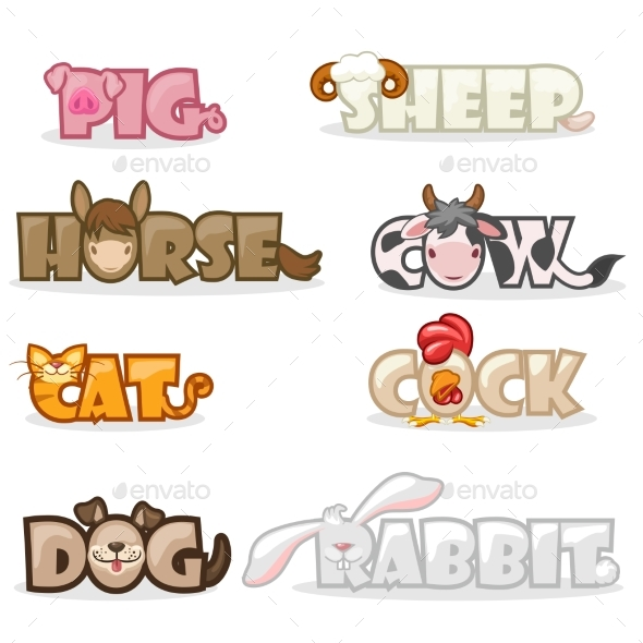 Animal Text Name