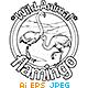Animal Outline Vector - Flamingo
