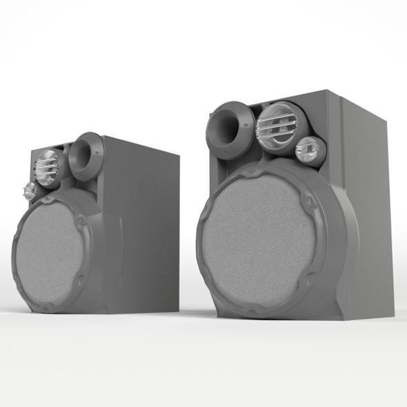 Hi-Fi Speakers - 3DOcean Item for Sale