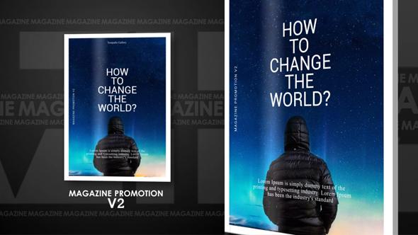 VideoHive Magazine Promotion V2 19310823