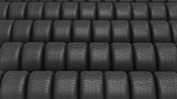 VideoHive The Ranks of Automobile Tires 19311327