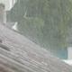 Rain Heavy Downpour Drips and Runoff