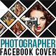Photographer Photo Display Facebook Cover with 6 Color Effect