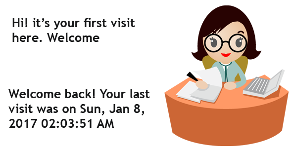 "Receptionist PlugIn – ""Your last visit was on …"""