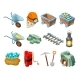 Mining Game Isometric Elements Collection
