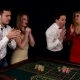 Company of Young People Playing Roulette