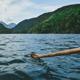 Water Paddling Canoe Lake