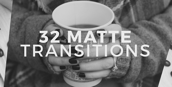 VideoHive 32 Matte Transitions 19313787