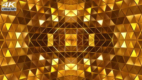 VideoHive Gold Abstract Stage 19313827