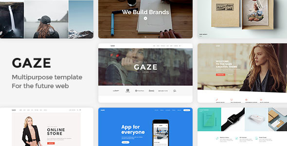 Gaze | Premium Multipurpose HTML Template