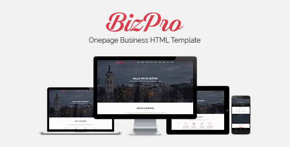 BizPro - Onepage Multipurpose Business HTML Template