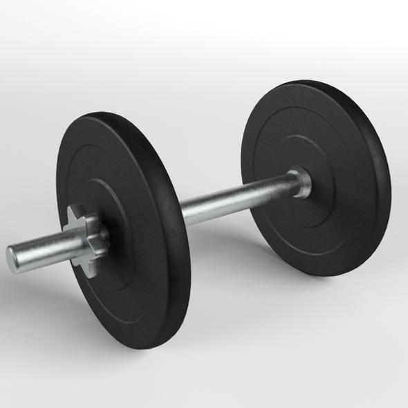 Gym Equipment - Dumbbell - 3DOcean Item for Sale