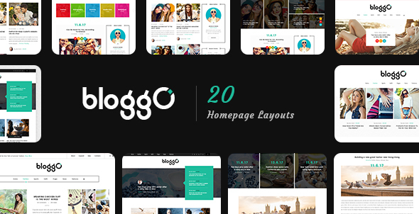 Bloggo – Personal Blog PSD Template