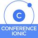 Conference Ionic - Full Application with Firebase backend