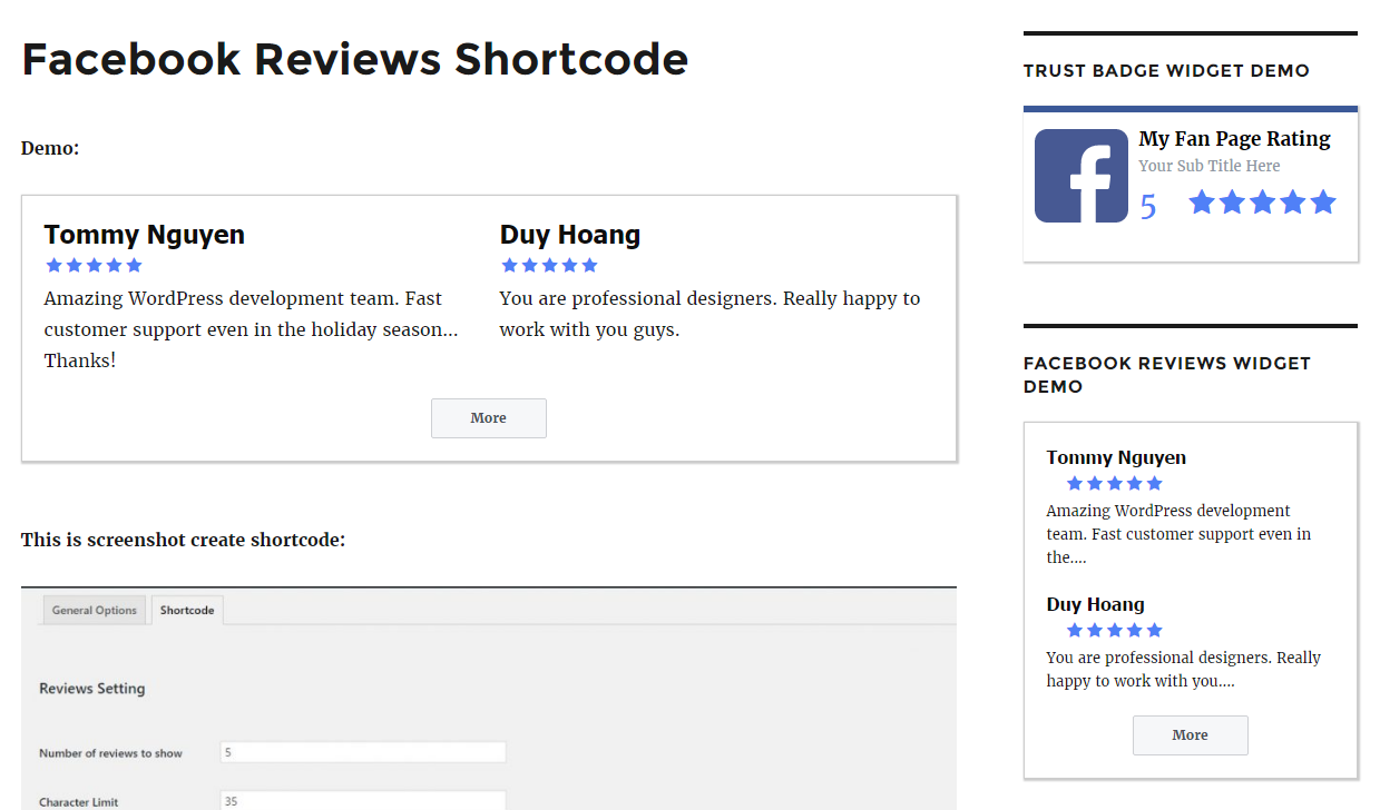 Facebookreviewsvisualcomposerg Facebookreviewswidgetwordpressg  Facebookreviewswordpresscreateshortcodeg How To Add Star Rating Reviews To  Your Facebook