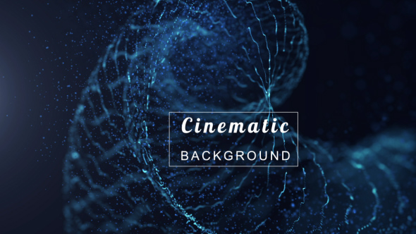 VideoHive Blue Space Background 19316275