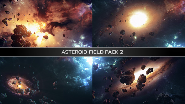 VideoHive Asteroid Field Pack 2 19316720