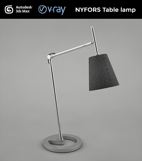3DOcean NYFORS Table Lamp 19316952