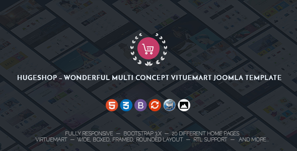 JV HugeShop Multipurpose Joomla Template