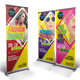 Fashion Trends Roll-up Banner