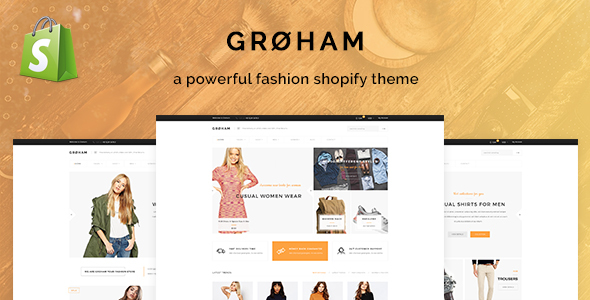 Download Groham - Fashion eCommerce Shopify Theme nulled download