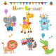 Collection of Birthday Animals