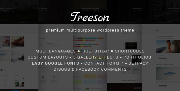 Treeson - Multipurpose WordPress Theme