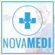 NOVAMEDI - one page Medical psd template