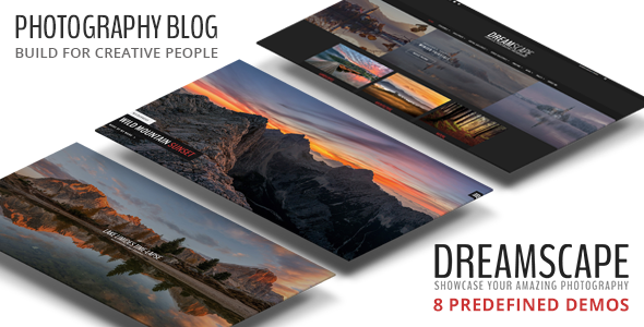 Download Dreamscape - Photography WordPress Blog Theme nulled download