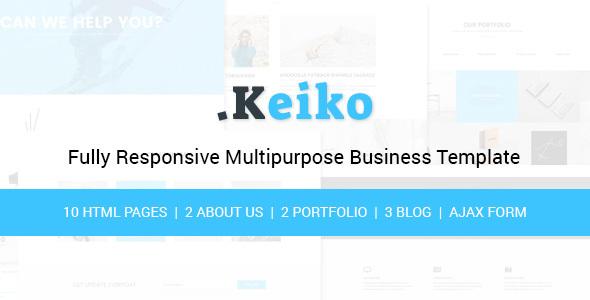 Keiko - Multipurpose Business HTML Template