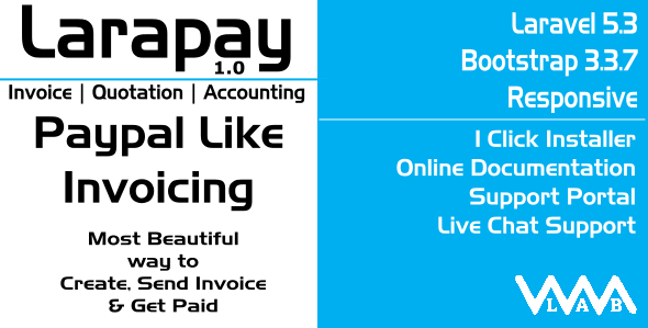 Larapay | Paypal Like Invoicing & Accounting with Payment Gateways